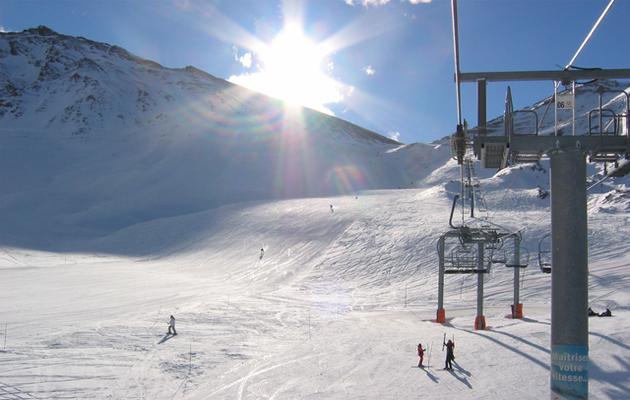 Op wintersportvakantie