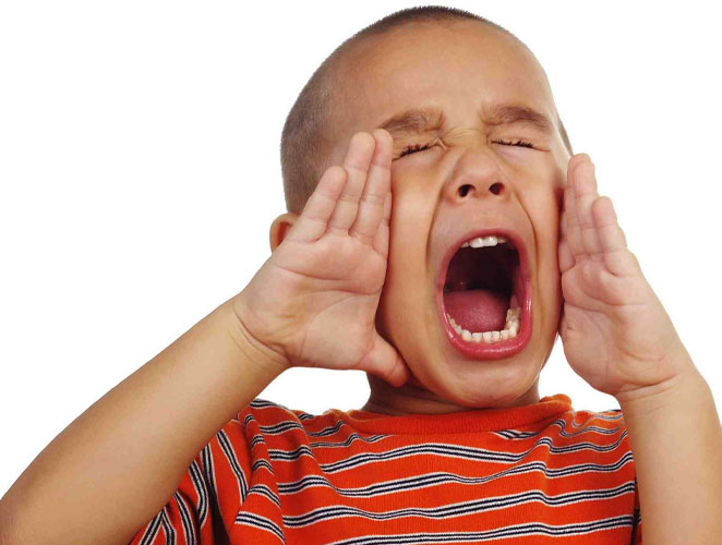 Niet meer schreeuwen