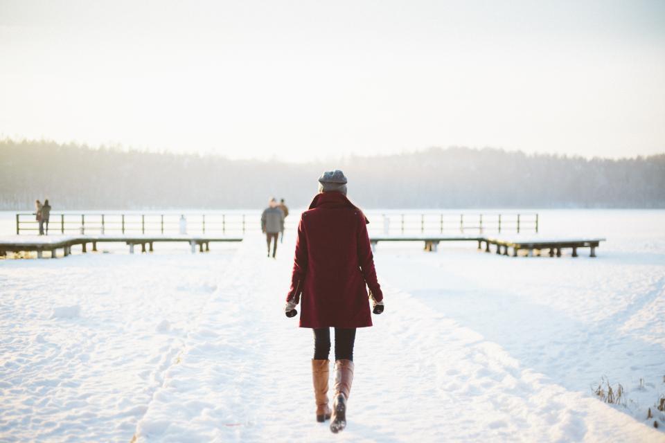 Zwangerschap en koude winter